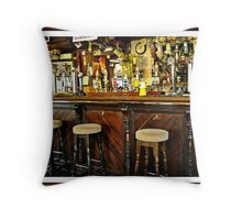 """"""" And the Bar"""" Throw Pillow"""