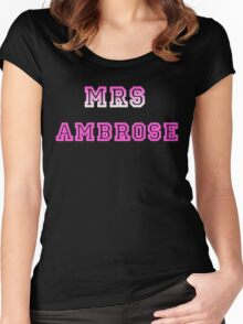 Mrs Ambrose Women's Fitted Scoop T-Shirt