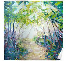 Promise Of Spring - A Woodland Path Poster