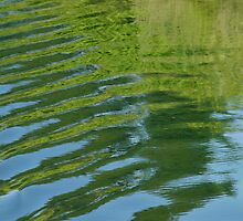 Ripples - green/blue by JenStone
