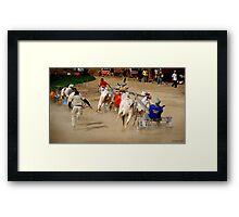 BEYOND FINISH LINE #2 Framed Print