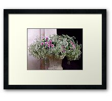 Waiting For The Bride Framed Print