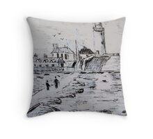 St Mary's Island Throw Pillow