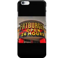 Fatburger  iPhone Case/Skin