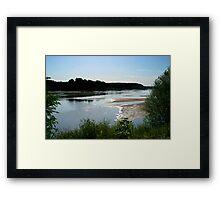 The Lazy Loire Framed Print