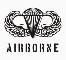 US airborne parawings - black Kids Clothes