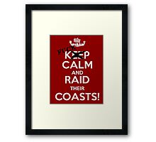 Keep calm and...  Framed Print
