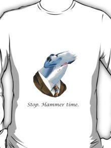 Funny stop hammer time shark parody T-Shirt