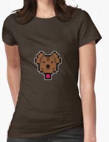 Lucas' dog shirt. Womens Fitted T-Shirt