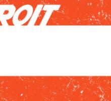 Detroit Express Sticker