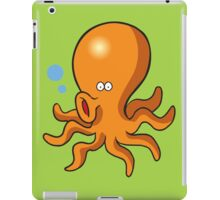 Cute singing octopus iPad Case/Skin