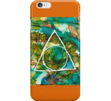 Serenity in Hot Forest iPhone Case/Skin