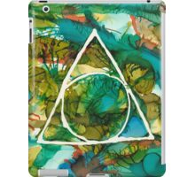 Serenity in Hot Forest iPad Case/Skin
