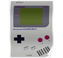 Siloet Game Boy Fan Art Poster