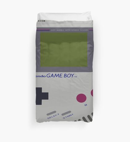 Siloet Game Boy Fan Art Duvet Cover
