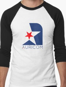 Wipeout - Aurocom logo Men's Baseball ¾ T-Shirt