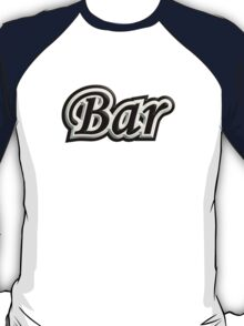 Bar B&W T-Shirt