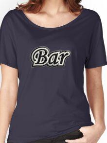 Bar B&W Women's Relaxed Fit T-Shirt