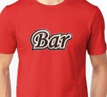 Bar B&W Unisex T-Shirt