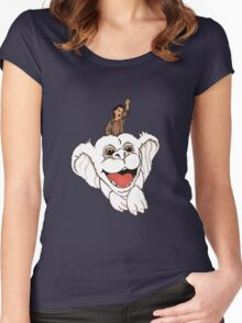 Falkor the Luckdragon Women's Fitted Scoop T-Shirt
