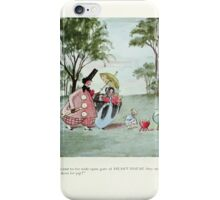 The Happy Heart Family Virginia Gearson 1907 0053 Jumped out of their Skins for Joy iPhone Case/Skin