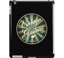 vintage guitars 1955 iPad Case/Skin