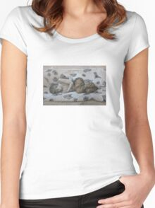Cold Slumber Women's Fitted Scoop T-Shirt