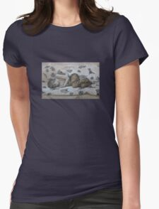 Cold Slumber Womens Fitted T-Shirt
