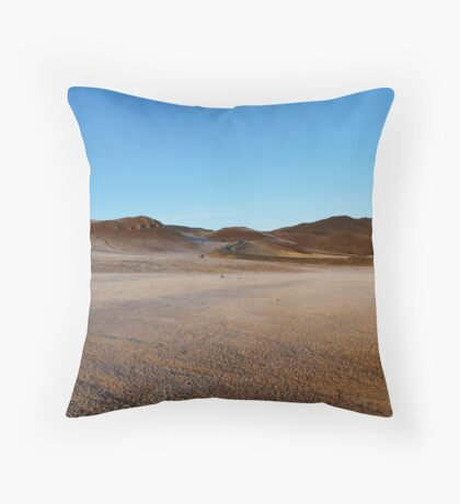 Curvy road Throw Pillow