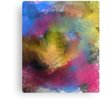 Unique Colorful Abstract Metal Print