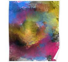 Unique Colorful Abstract Poster
