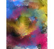 Unique Colorful Abstract Photographic Print