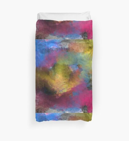 Unique Colorful Abstract Duvet Cover