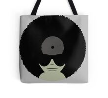 Funky Music Afro Vinyl Records Tote Bag