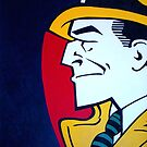 homage to Dick Tracy by sirbonessa