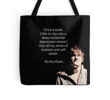Bo Burnham Existential Quote Tote Bag