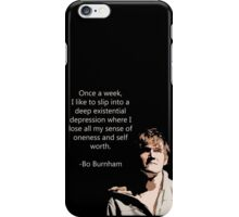 Bo Burnham Existential Quote iPhone Case/Skin
