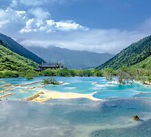 Landscape in Sichuan, China by ibphotos