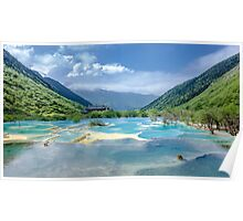 Landscape in Sichuan, China Poster