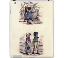 The Little Folks Painting book by George Weatherly and Kate Greenaway 0107 iPad Case/Skin