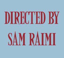 Directed By Sam Raimi Baby Tee