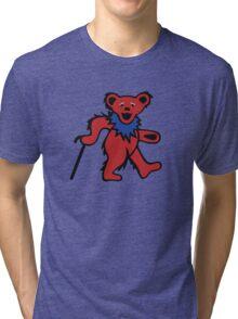 Grateful Dead 50th Anniversary - Dancing Bear Fare Thee Well Tri-blend T-Shirt
