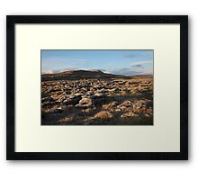 Scales Moor From Twistleton Framed Print
