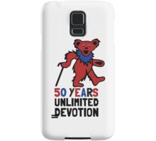 Grateful Dead 50th Anniversary - Dancing Bear - Unlimited Devotion Samsung Galaxy Case/Skin