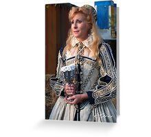 """Royalty At The Renaissance Faire"" Greeting Card"