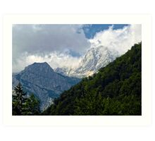 Julian Alps 2 Art Print
