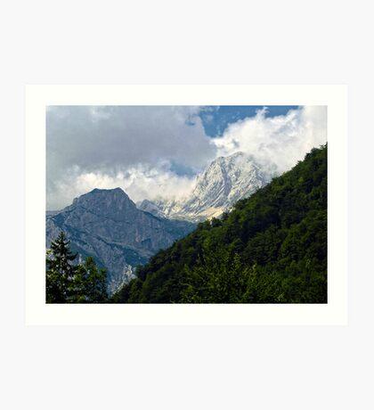 Julian Alps 2 Art Print