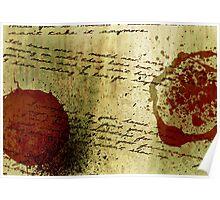 Love Lies Bleeding... Poster