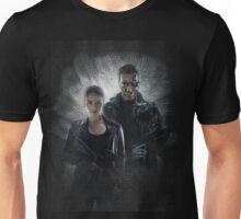 Terminator Genisys Sarah Connor & T-800 Guardian Design Unisex T-Shirt