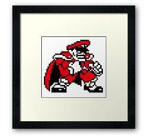 M. Bison (sprite) Framed Print